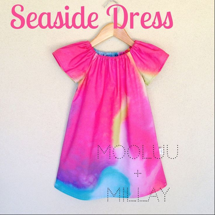 MOOLUU + MILLAY PREORDER SEASIDE DRESS TROPICAL TANG