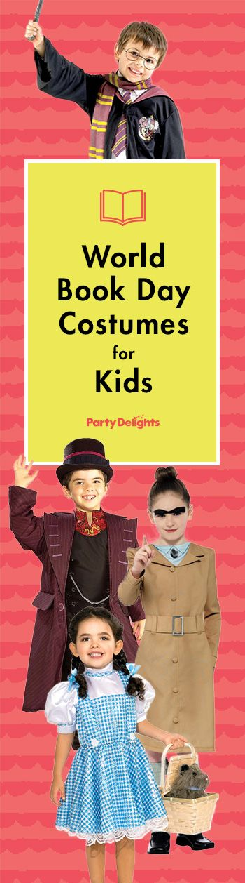 Find tonnes of great World Book Day costumes for kids just in time for World Book Day!