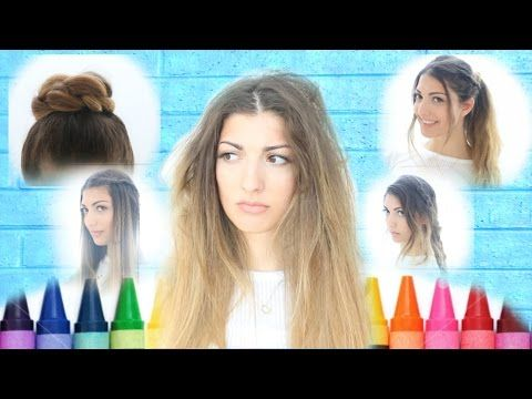 My Back To School Hairstyles! - YouTube