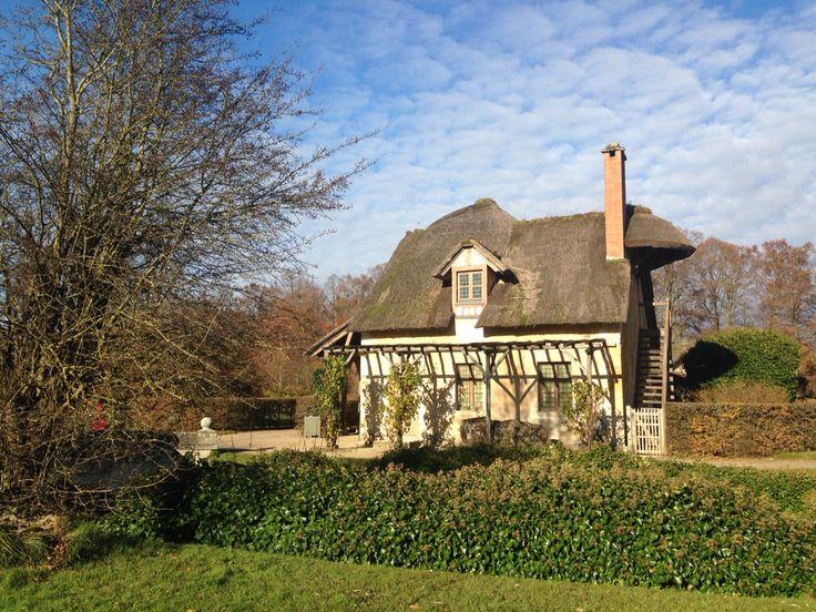 Marie Antoinette's farm house.