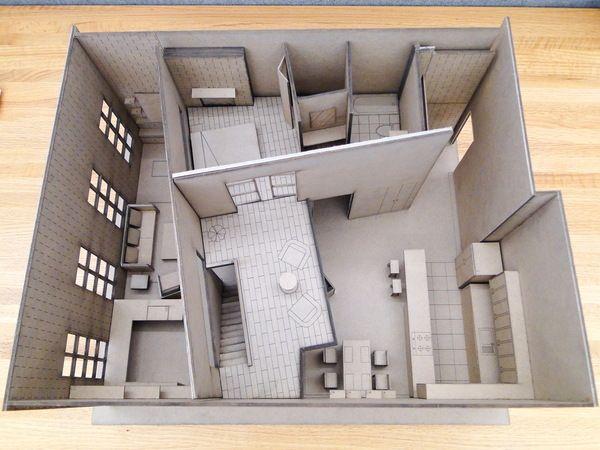 Condo Interior Design model in Savannah by Wenya Zhou