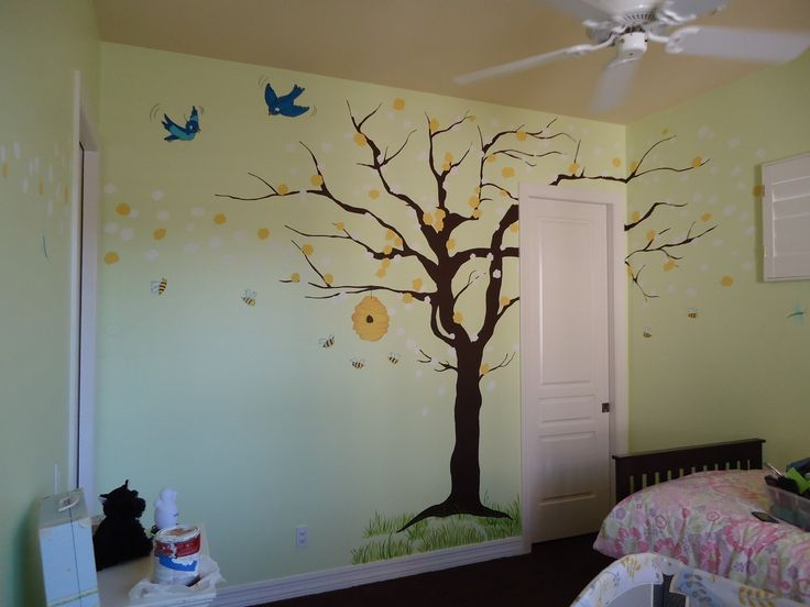 17 best images about bumblebee kitchen on pinterest for Bumble bee mural