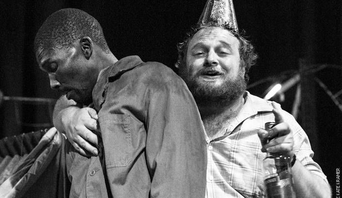 It is New Year's Eve, 1989. Two men, one white, one black, both cast adrift on the violent tides of South African history, meet at a rickety country fairground. There's a showdown of course and, in the end, reconciliation. Playwright Athol Fugard imagined this confrontation long before Julius Malema emerged to irrevocably alter the tone of the discourse between black and white South Africans. But is the play still relevant? By MARIANNE THAMM.