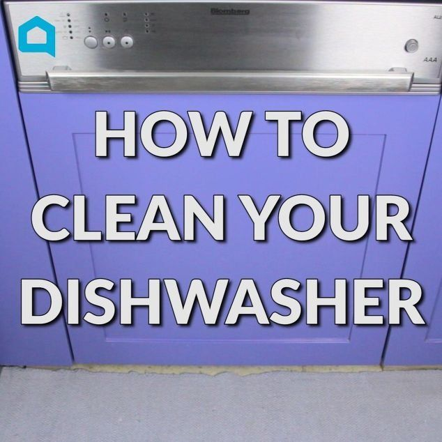 Two common household ingredients will leave your dishwasher squeaky clean.