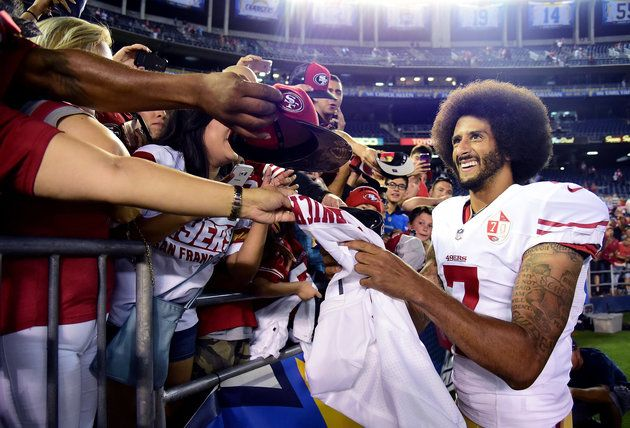Black Americans Support Colin Kaepernick. White People? Not So Much
