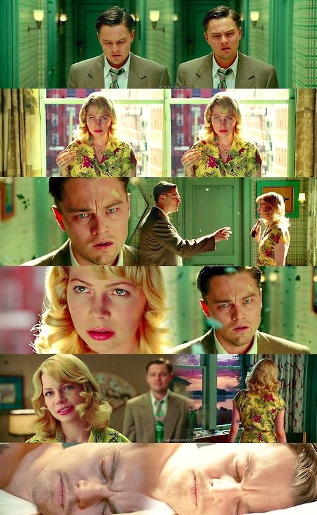 Shutter Island- this is the film that made me worship the ground that Leonardo DiCaprio walks on, that man is far beyond talented! Absolutely brilliant! This film is without a doubt the best film that I have ever seen. Ever.