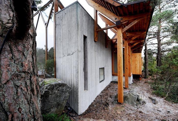 Villa Busk,  Telemark Norway 1989, Sverre Fehn