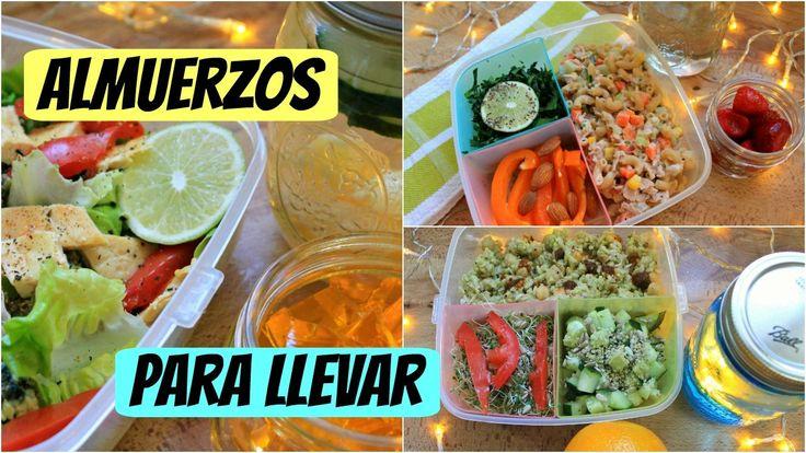 Almuerzos|Comidas saludables para llevar (Opción vegana incluida) - YouTube
