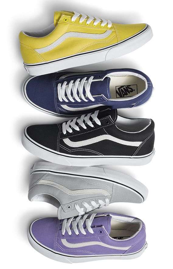 New Canvas Old Skools available now at vans.com