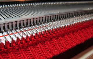 How To Attach Neck And Arm Bands On A Knitting Machine