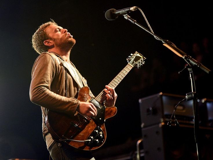 Caleb Followill of Kings of Leon, confirmed as the final headliners for the Isle of Wight Festival 2014