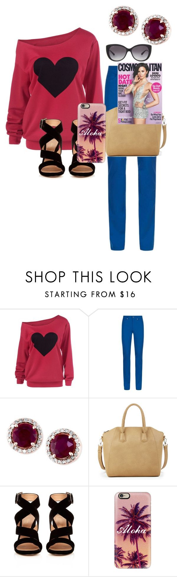 """""""No Time 5"""" by xaraxahir ❤ liked on Polyvore featuring Escada Sport, Effy Jewelry, Sole Society, Gianvito Rossi, Casetify and Bulgari"""