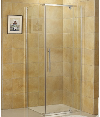 SIGN SHOWER SCREEN ONLY 900X900X2MT CHROME - $340