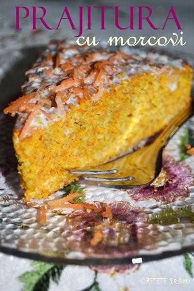 Prajitura cu morcovi - RETETE DUKAN