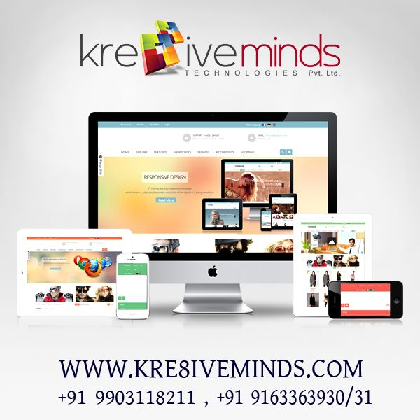 #Webdesigningservices in India at affordable price. http://kre8iveminds.com/