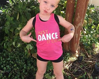 Just dance it out tank, dancer DANCEWEAR, girls dancewear, dance shirt , dance tank, dance gits, christmas gifts, free shipping