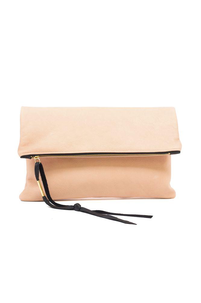 VIDA Leather Statement Clutch - Leather clutch Morocco bl by VIDA NTeT54Y