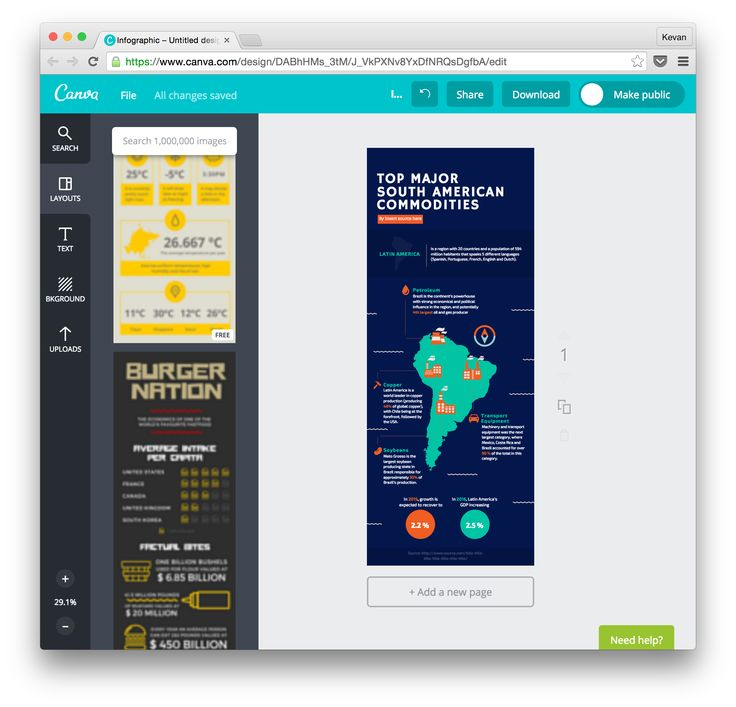 A quick overview of the best (free) infographic makers and how to quickly build a beautiful infographic - design skills or not.