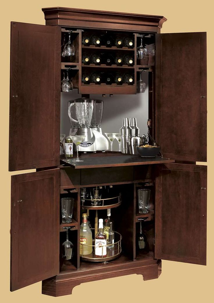 Fresh Hide A Bar Cabinet