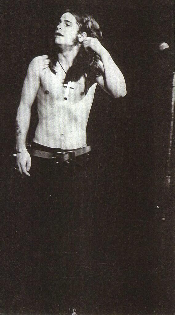 damn. Ozzy Osbourne 1972