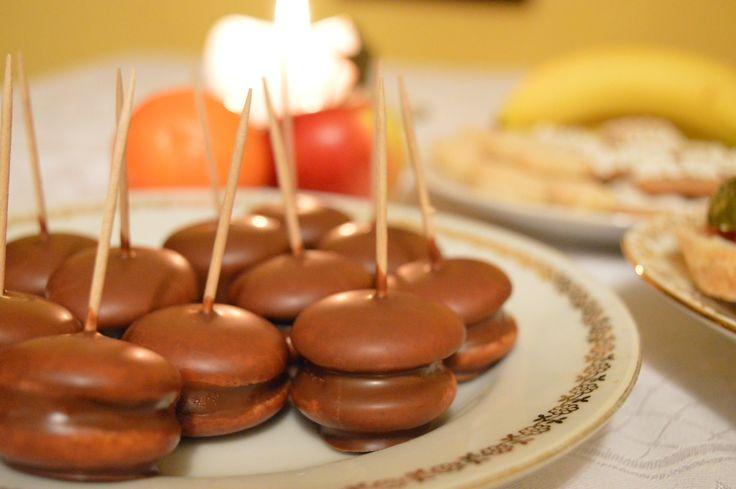 Banana No-bake Minicakes