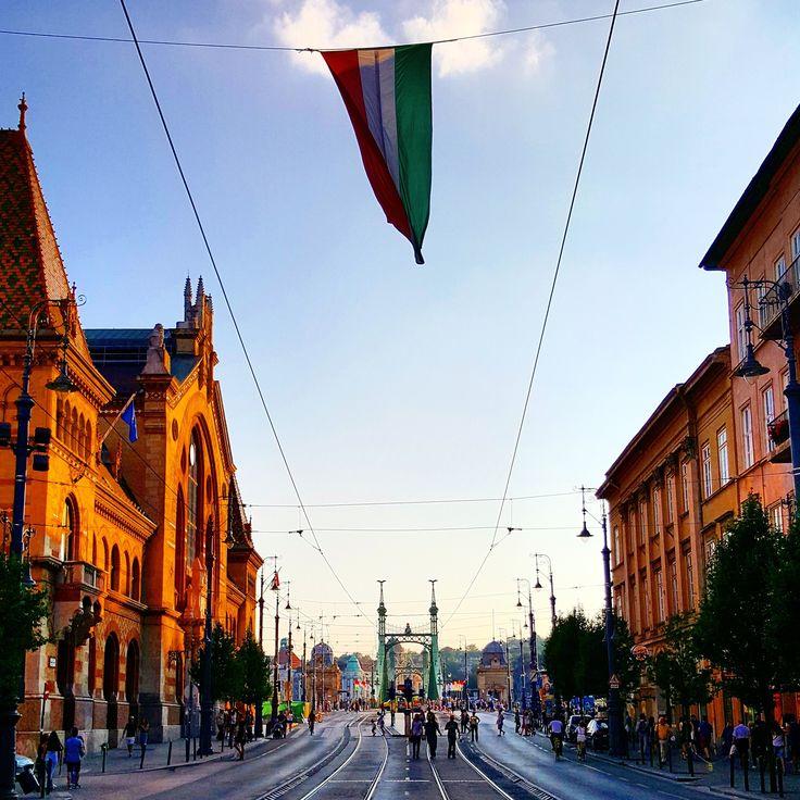 #budapest #flag #nationalday #ststephensday #ststephen #hunagry #magyarorszag