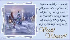 Vánoční svátky - Nový rok - říkanka