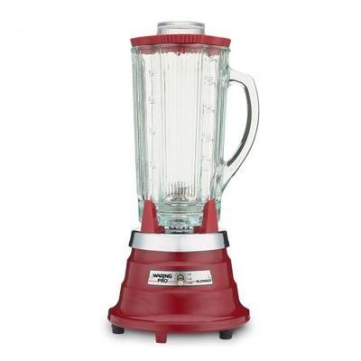 Waring PB30 Blender i rød med kraftig motor som klarrer selv de mest krevende oppgavene i kjøkkenet. Knuser is, lager smoothies og supper m.m. på få sekunder.