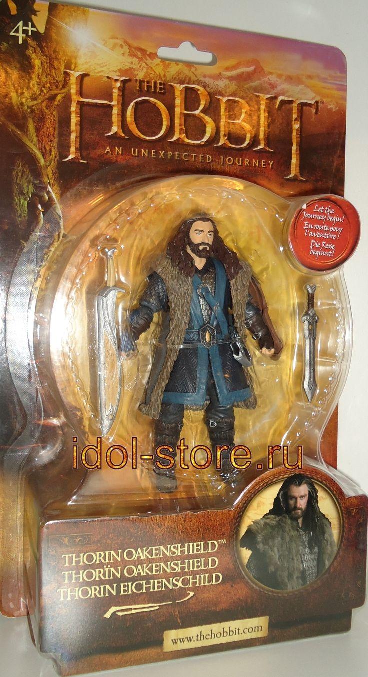"The Hobbit: An Unexpected Journey - Thorin Oakenshield action figure. Гном Торин Дубощит * Оукеншильд, игровая фигурка, ""Хоббит: Нежданное путешествие"""