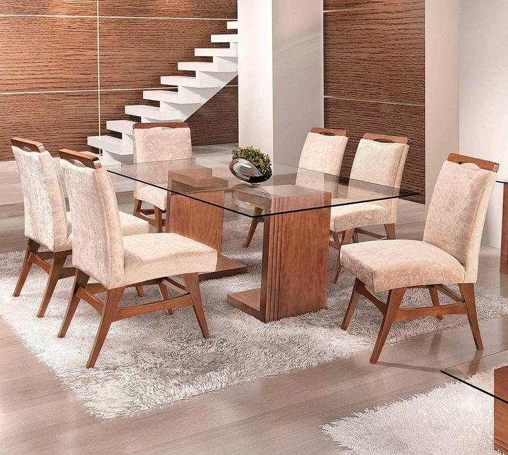 25 melhores ideias de mesa vidro 4 cadeiras no pinterest for Modelos de mesas