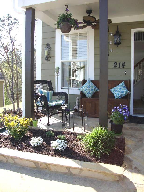 Best Scheme Modern Front Porch Decorating Ideas Of Small Front Porch Decor Small Front Porches Designs Front Porch Furniture Front Porch Decorating