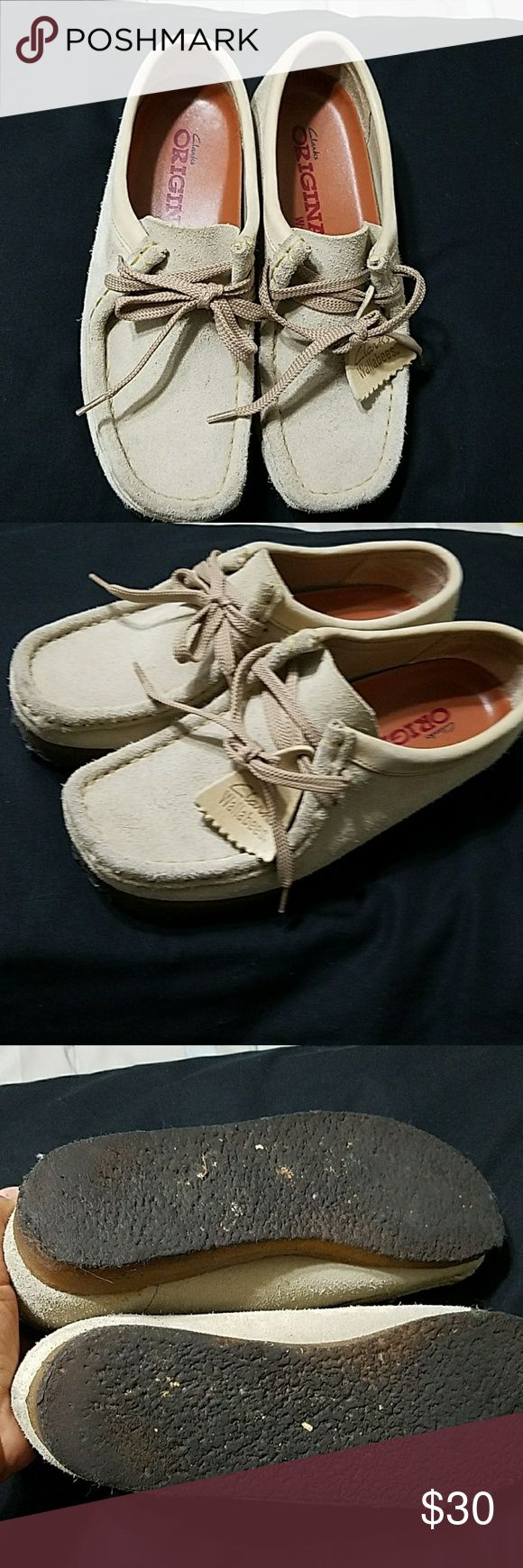 Clarks Wallabees shoes Good condition sz 7M very clean inside Clarks Shoes Flats & Loafers
