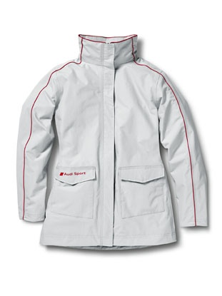 Audi Sport all-weather jacket Women.    Available from: http://www.m25audi.co.uk