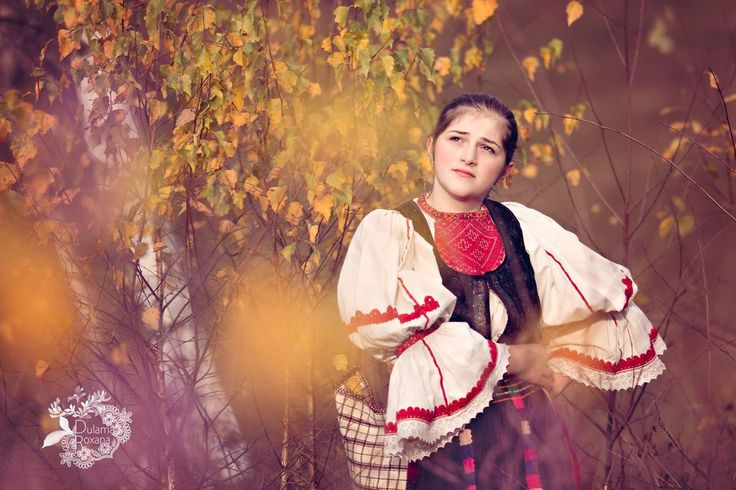 Romanian girl in national costume by damaianty.deviantart.com on @DeviantArt