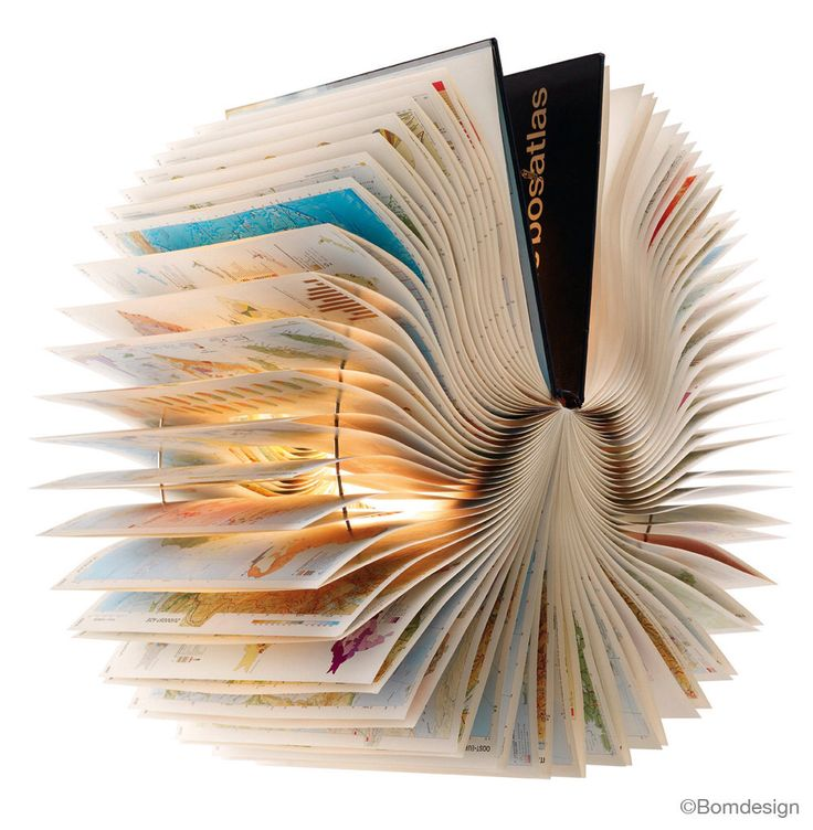 Atlas Book Lamp - unique handmade lamp made from a used book, recycle, upcycle, bookart, light, origami, lantern by BomDesignNL on Etsy https://www.etsy.com/listing/118029226/atlas-book-lamp-unique-handmade-lamp