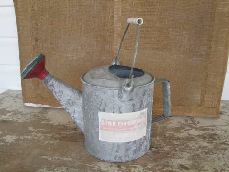 Vintage Galvanized Metal Watering Can Dover Sprinkler Head,Country cottage garden, Farmhouse,Farm House, Garden decor,Home Living by AntiquesPlus on Etsy