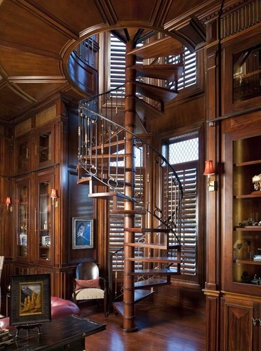 Staircase Photos Gothic Design, Pictures, Remodel, Decor and Ideas - page 2