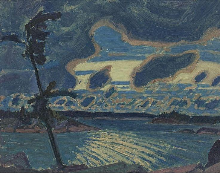 J.E.H. MacDonald (1873-1932) - After Sunset, Georgian Bay, 1931