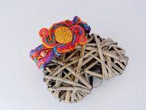 Energetyczna bransoletka sutasz/sari. Styl boho :)