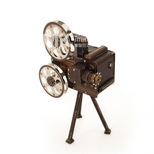 Metal In Korea Slide Projector Actual Color 3DInnometal Steel Metal Model Puzzle #MetalInKorea3DInnoMetal
