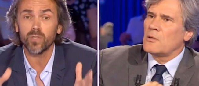 """""""ONPC"""" : le ton est monté entre Aymeric Caron et Stéphane Le Foll"""