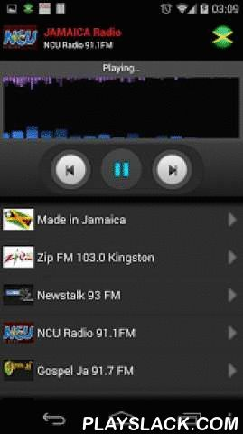 RADIO JAMAICA  Android App - playslack.com ,  Listen all Jamaican radio stations on your mobile.For more stations, just send me an email an I will add them in the next update.Find the following stations:- Power FM 106.1 Kingston- Linkz 96 FM 96.5 Negril- StylzFM 96.1 Port Antonio- Mega Jamz 98 FM 98.7 Kingston- RJR 94 FM 94.1 Kingston- Fame FM 95.7 Kingston- NationWide Radio 90 Kingston- Kool 97 FM 97.1 Kingston- Hitz 92 92.1 FM Kingston- Hot 102 FM 101.9 Kingston- KLAS Sports Radio 89.5…