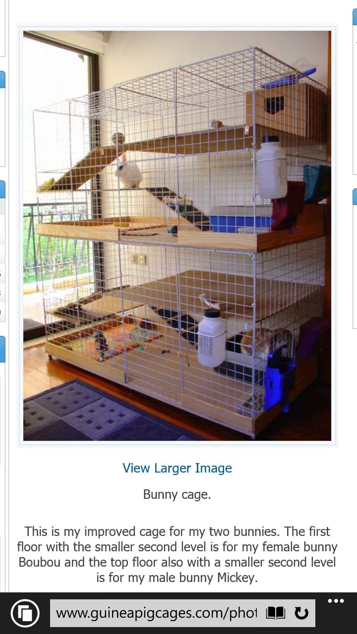 Indoor Rabbit Cage With Multiple Levels For Bunnies Pets Dun4me Is The  Marketplace For Custom