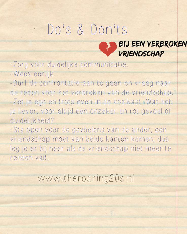 Verbroken vriendschap. Gedumpt door je beste vriend(in)   http://www.theroaring20s.nl/verbroken-vriendschap-gedumpt-door-je-beste-vriendin/