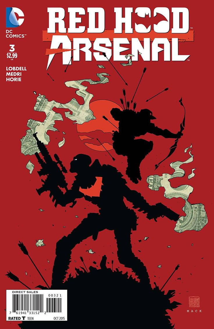 Red Hood And Arsenal #3 By David Mack *
