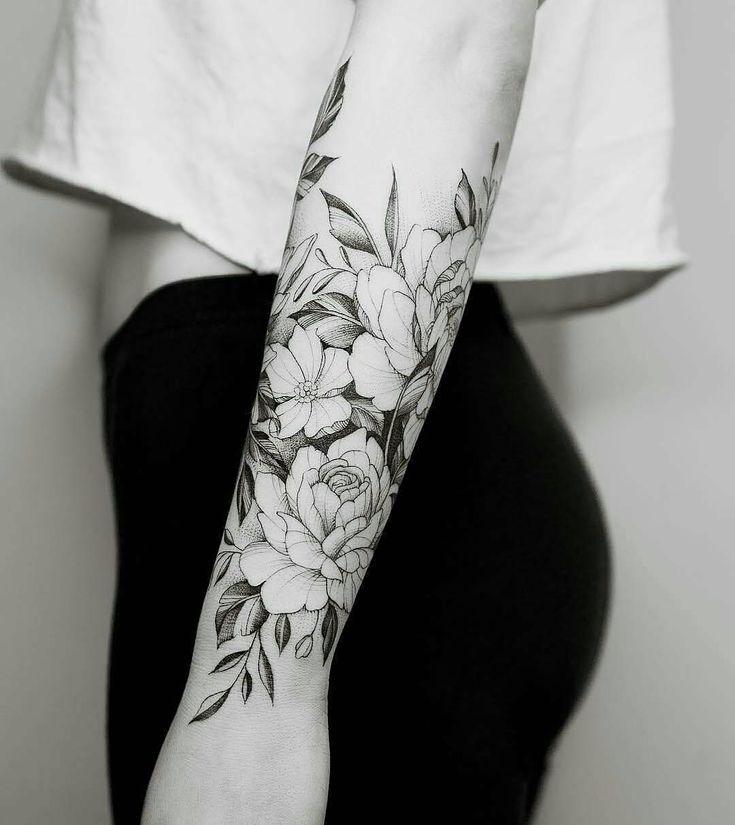100+ Tattoo & Flower tattoo