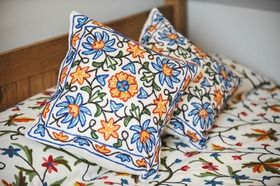 Kashmiri Cushions from Alhambra Tiles