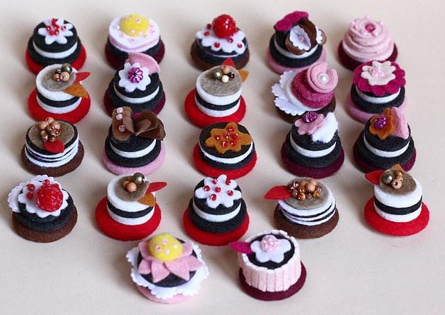 mini pastelillos deliciosos