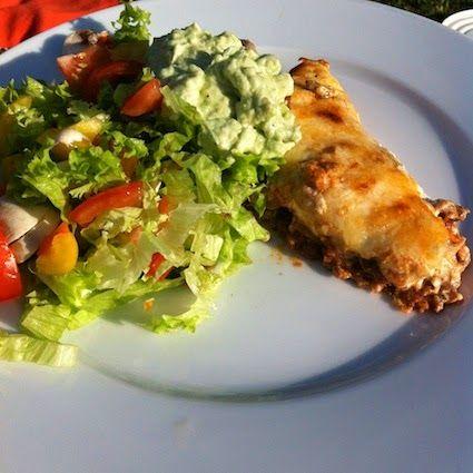 #LCHF LCHF-hverdag: tacotærte