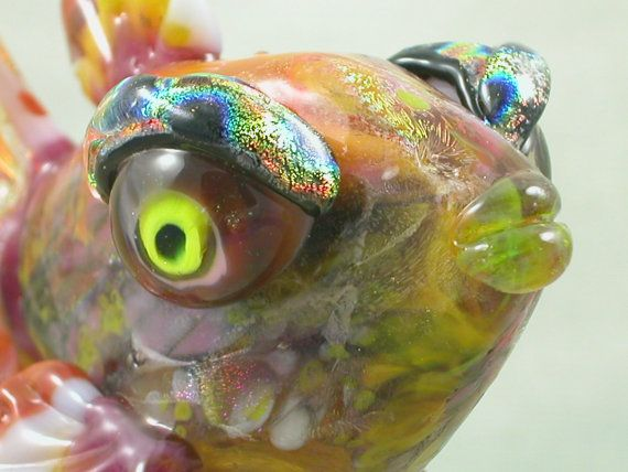 17 best images about a3 lampwork hollow beads on for What fish has eyelids